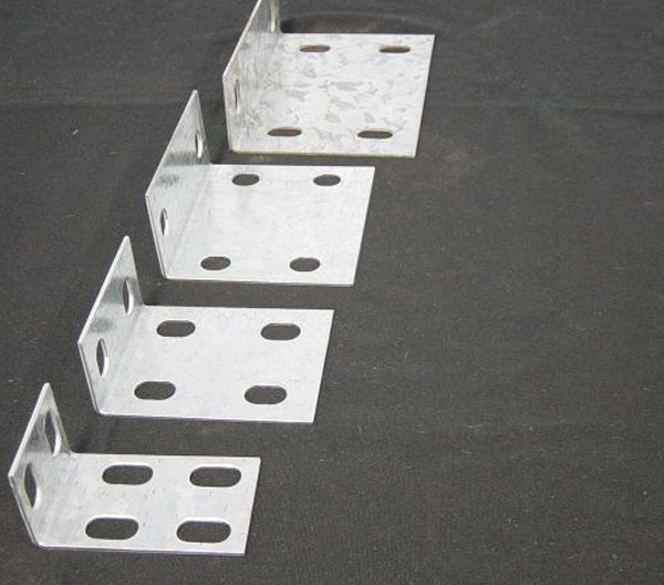 four metal brackets