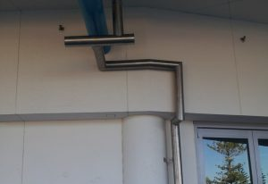 Stainless Steel Downpipe